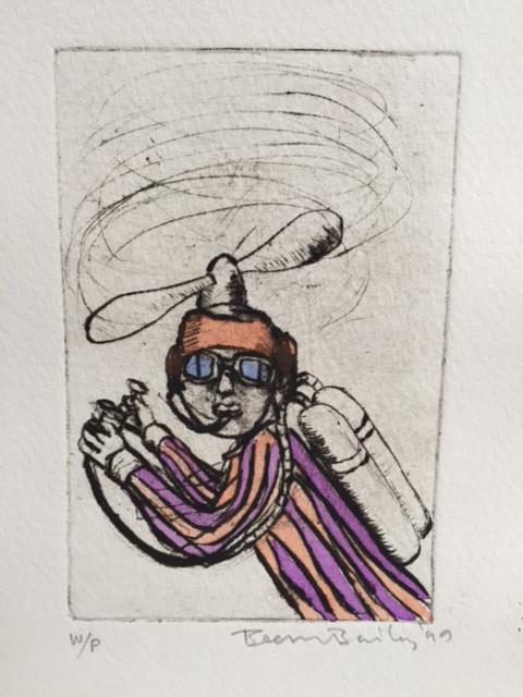 Flying Man Sam with Oxygen
